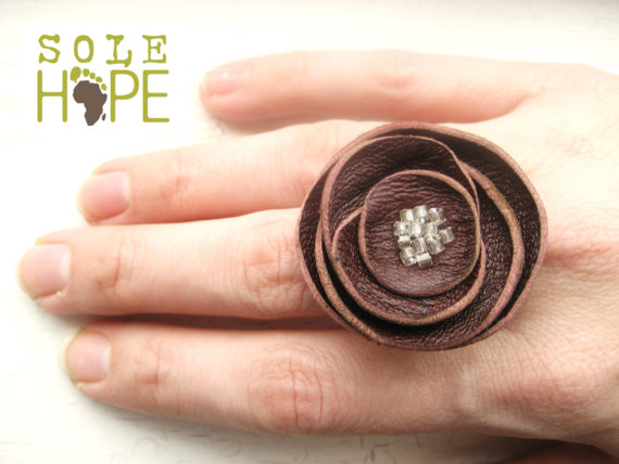 Good Little Things etsy Sole Hope ring