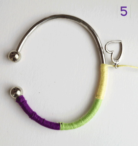 Easy DIY Bracelet Step 5