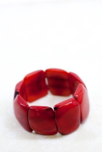 Lisa Leonard ruby red bracelet