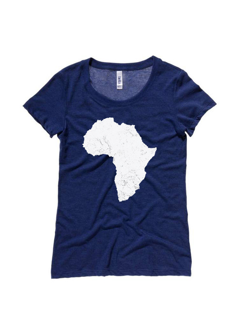 Once Was Lost ladies Africa tshirt