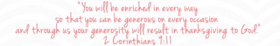 2 Cor 9:11 scripture